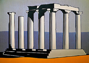 Roy Lichtenstein - Tempio di Apollo