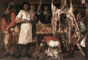 Annibale Carracci - Macelleria
