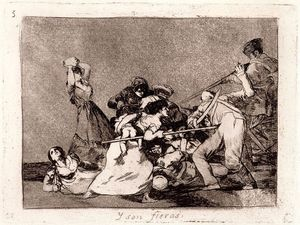 Francisco De Goya - Y fieras son