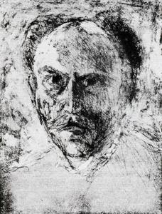 Emile Nolde - Self-portrait 1