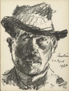 Lovis Corinth (Franz Heinrich Louis) - Self-Portrait 3
