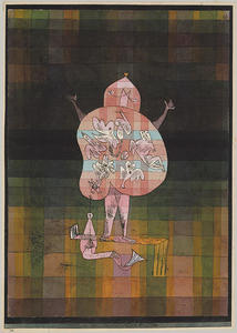 Paul Klee - Ventriloquo e Crier in the Moor