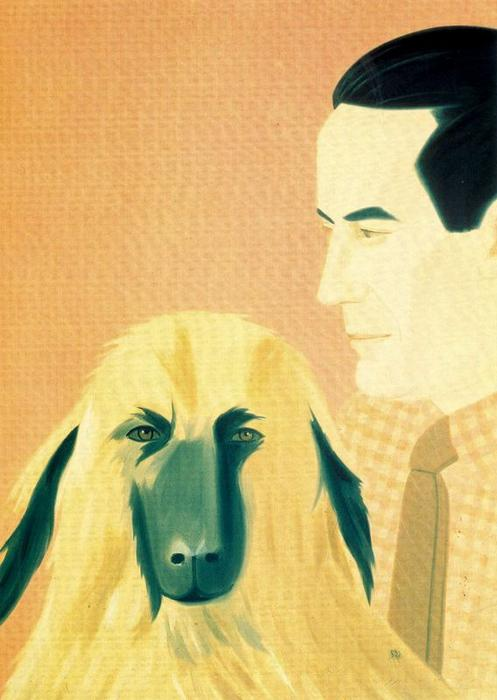 famous painting Roger e Sophie of Alex Katz