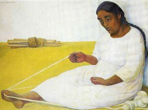 Diego Rivera - Spinning indiano