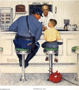 Norman Rockwell - The Runaway