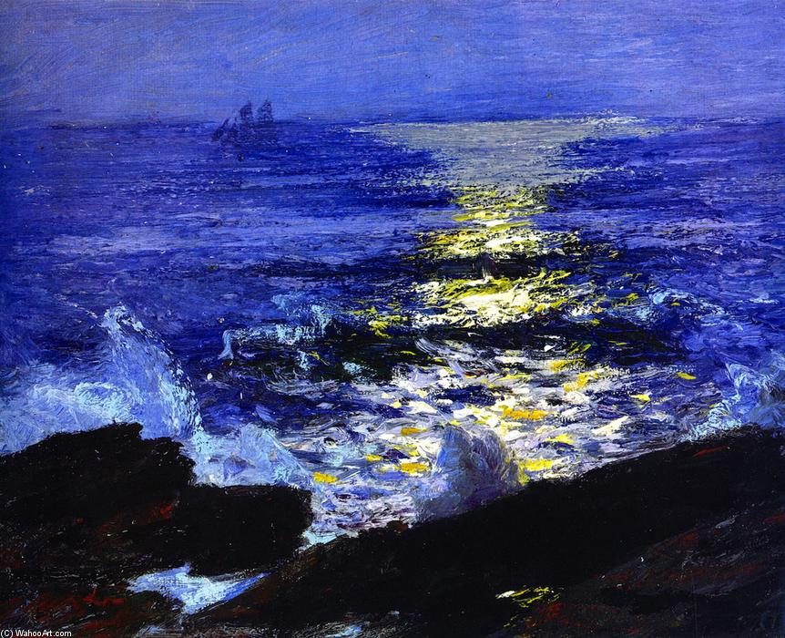 famous painting Marina of Edward Henry Potthast