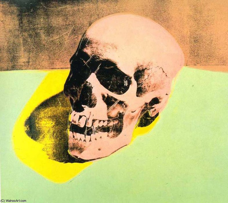 famous painting senza titolo of Andy Warhol