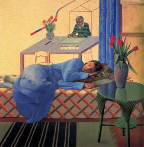 David Hockney - senza titolo 828