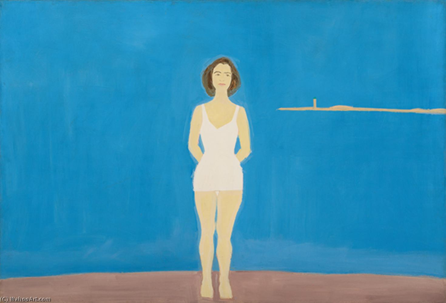 famous painting Bagnante 2   of Alex Katz
