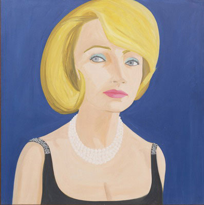 famous painting Lita of Alex Katz