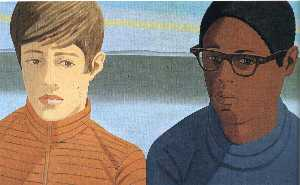Alex Katz - Vincent e Tony
