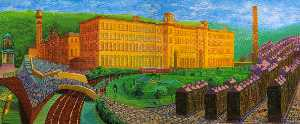 David Hockney - Sali mulino , saltaire , yorks