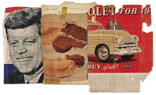 famous painting Presidente eletto of James Rosenquist