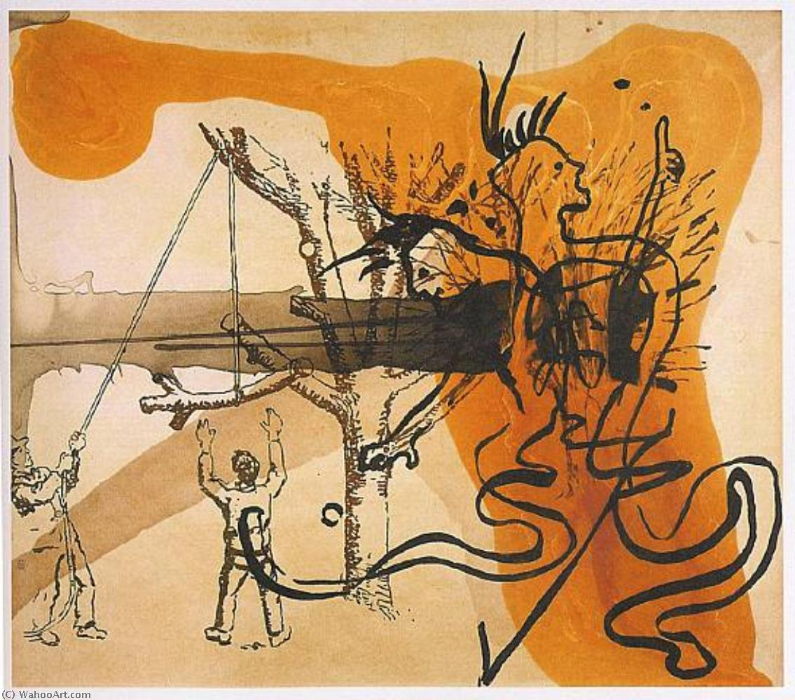famous painting Lackmus of Sigmar Polke